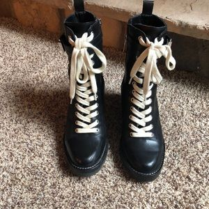 Marc Fisher lace up boot